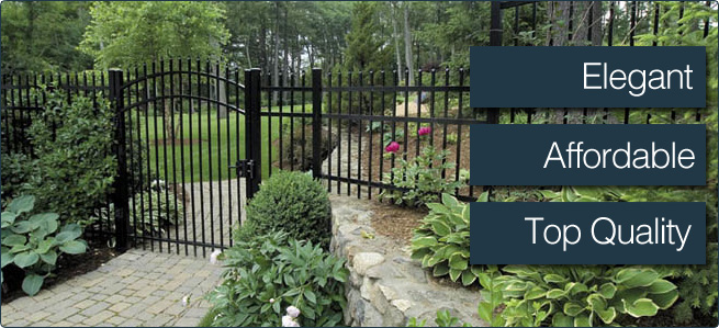 Elegant, Affordable, Top Quality Fence